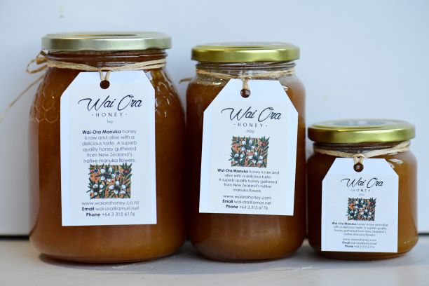 About Wai Ora Manuka Honey